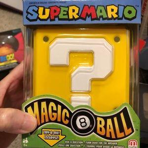 Other - SUPER MARIO MAGIC 8 BALL. New!